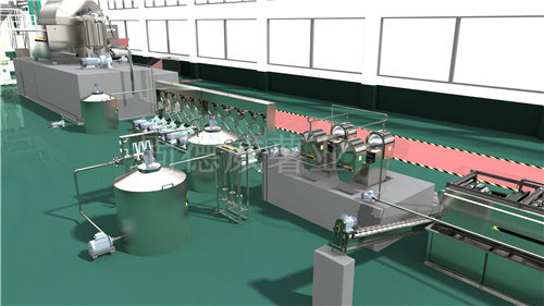 The Professional Manufacturer of Cassava Starch Processing Equipment in Henan Province