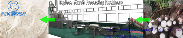 processing of tapioca starch