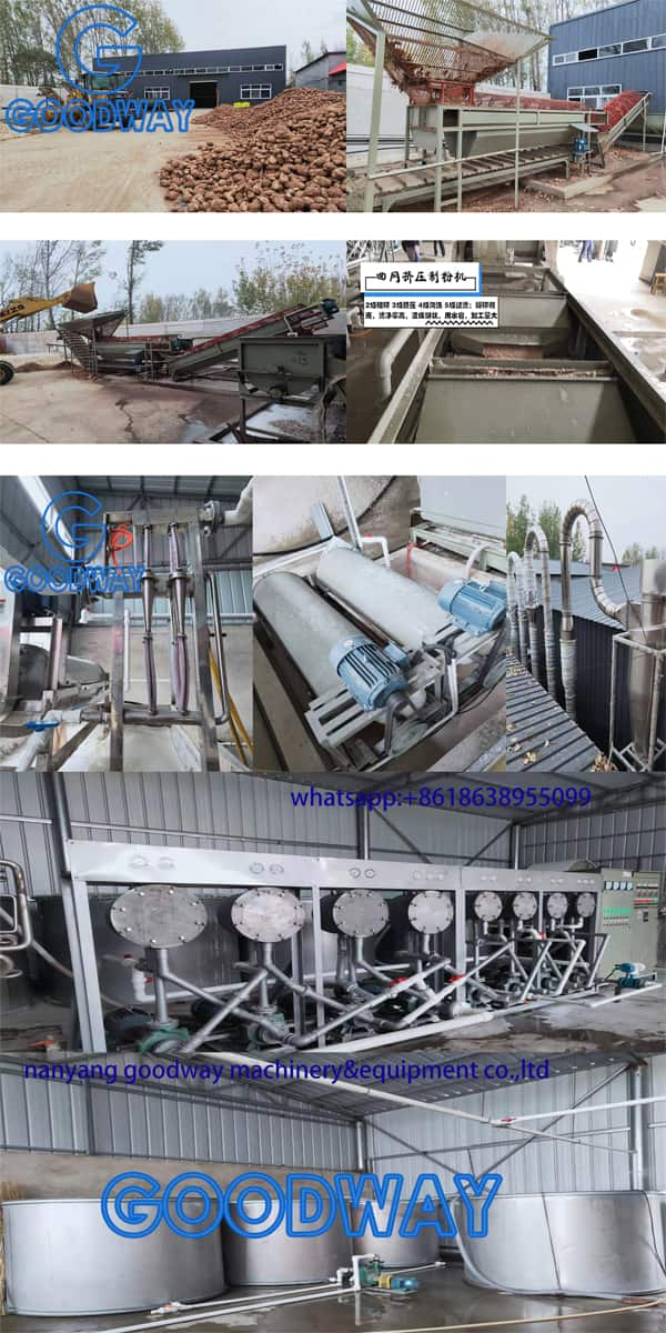 Starch Processing Equipment