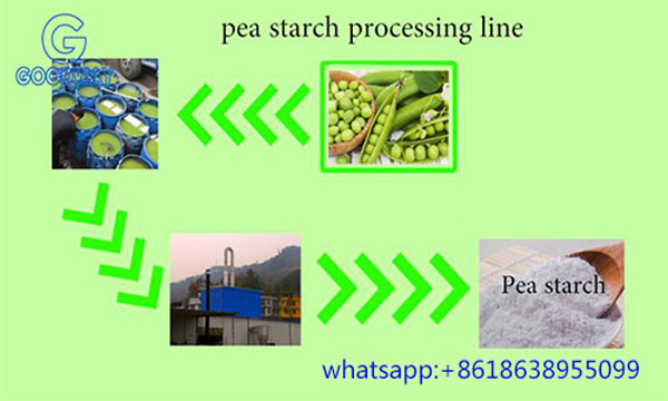 Pea Starch Processing Line